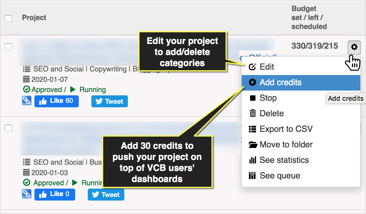 Generate more shares for your content