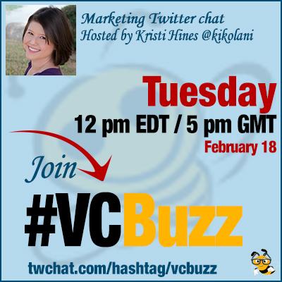 Kristi Hines @kikolani #vcbuzz