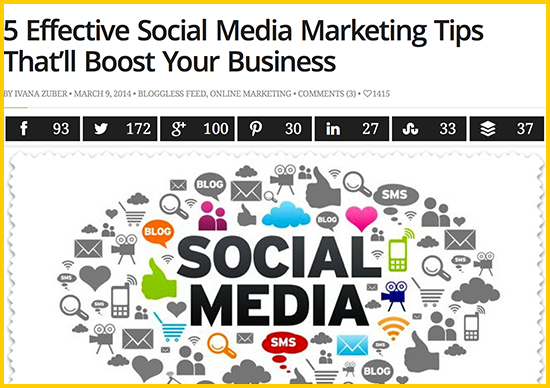 5 Effective Social Media Marketing Tips That'll Boost Your Business