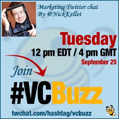 List Marketing Twitter Chat with @NickKellet #VCBuzz
