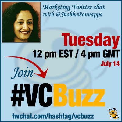 Content Repurposing Twitter Chat with @ShobhaPonnappa #VCBuzz