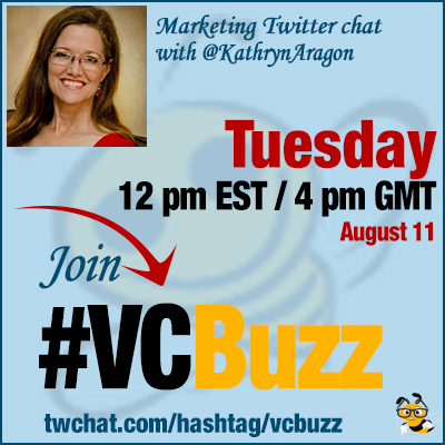 Advanced Content Marketing Twitter Chat w/ @KathrynAragon