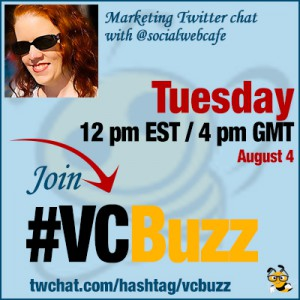 Video & Podcast Marketing Twitter Chat with Deborah Anderson @socialwebcafe
