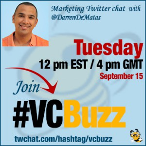 Starting Your Own Ecommerce Business Twitter Chat with @DarrenDeMatas #VCBuzz