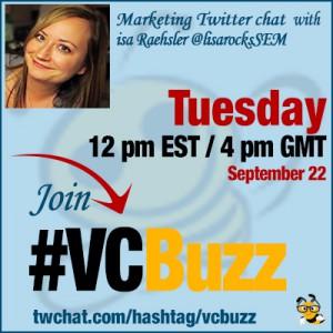 PPC Twitter Chat with Lisa Raehsler @lisarocksSEM #VCBuzz