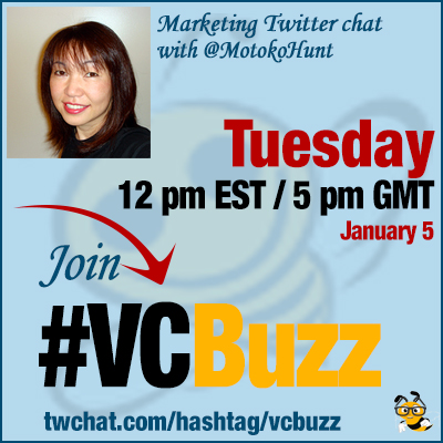 International Search and Social Marketing: Twitter Chat with @MotokoHunt #VCBuzz