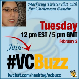 Analytics to Improve Conversion: Twitter Chat with Amel Mehenaoui @amelm #VCBuzz