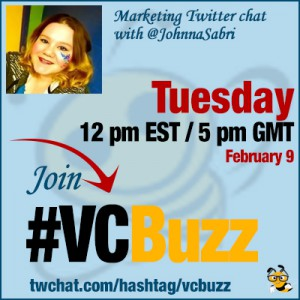 Social Media Marketing for Artists: Twitter Chat with @JohnnaSabri #VCBuzz