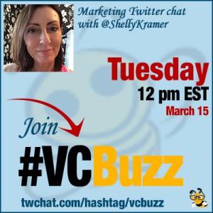 Digital Branding Twitter Chat with Shelly DeMotte Kramer @ShellyKramer #VCBuzz