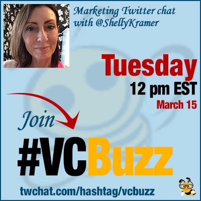 Digital Branding Twitter Chat with Shelly DeMotte Kramer @ShellyKramer #VCBuzz