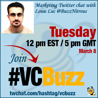 Streamline and Organize Your Content Production: Twitter Chat with Louie Luc @BuzzNitrous #VCBuzz