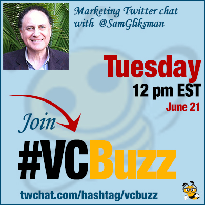 Augmented Reality in Education and Marketing: Twitter Chat with @SamGliksman #VCBuzz