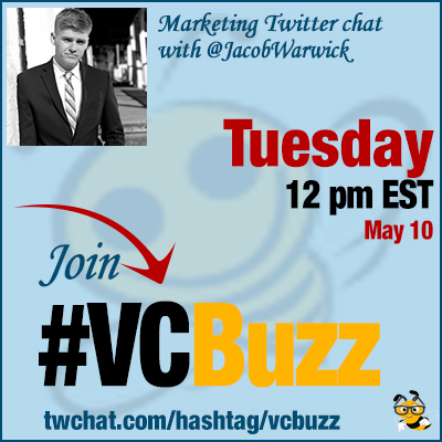 Brand Storytelling Twitter Chat with @JacobWarwick #VCBuzz