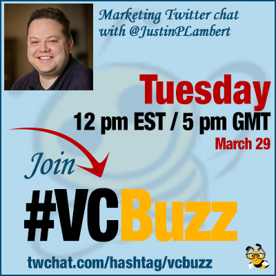 Content Marketing Experiments: Twitter Chat with @JustinPLambert