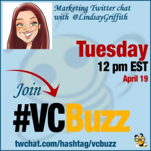 Niche Content Marketing: Twitter Chat with @LindsayGriffith #VCBuzz