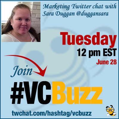 Traffic Generation Twitter Chat with Sara Duggan @duggansara #VCBuzz