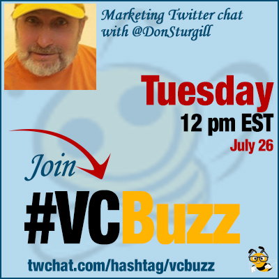 Writing to Impress: Content Marketing Twitter Chat with @DonSturgill #VCBuzz