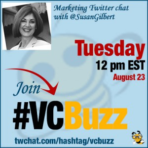 How to Market a Book with @SusanGilbert #VCBuzz