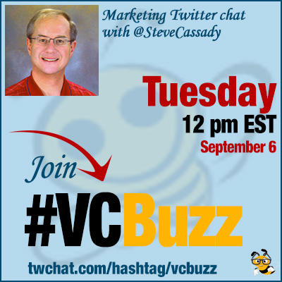 Social Media Marketing ROI with @SteveCassady #VCBuzz