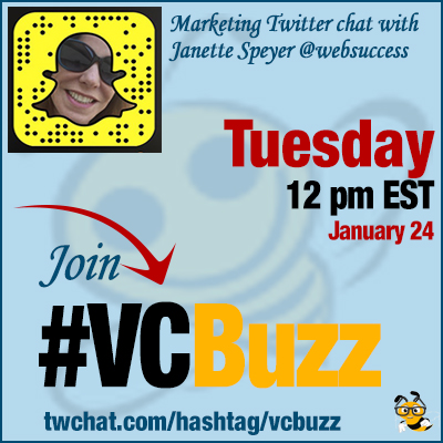 How to Succeed on Snapchat with Janette Speyer @JanetteSpeyer #VCBuzz