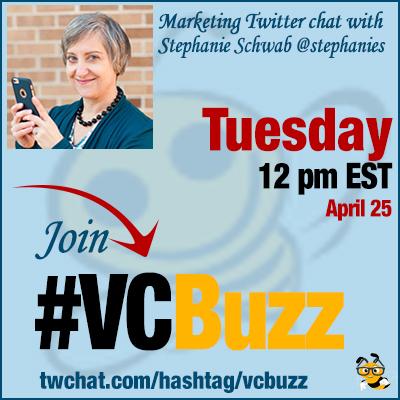 How to Find Your Brand Voice with Stephanie Schwab @stephanies #VCBuzz