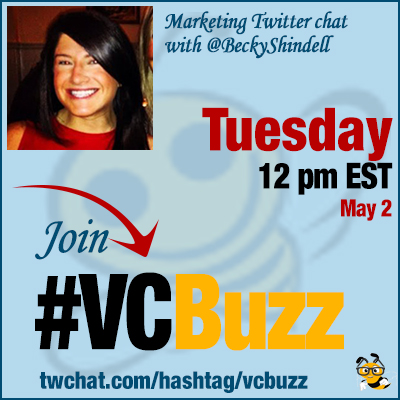 Hosting a Successful Twitter Chat with @BeckyShindell #VCBuzz
