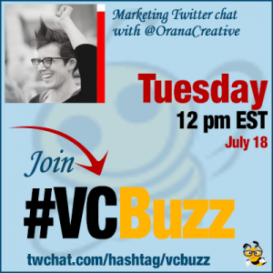 How and Why to Create Awesome Social Media Sharing Graphics with @OranaCreative #VCBuzz