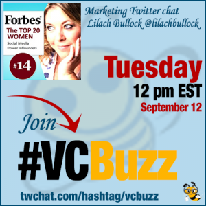 Best Social Media Marketing Tools with Lilach Bullock @lilachbullock #VCbuzz