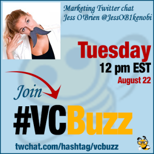 Visual Marketing Tactics and Trends with Jess O'Brien @JessOB1kenobi #VCBuzz