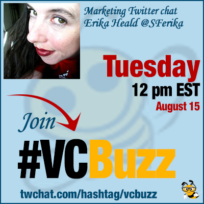How to Market with Facebook Live with Erika Heald @SFerika #VCBuzz