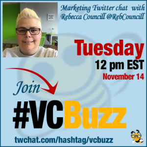How to Engage with Social Media Peers with Rebecca Councill @RebCouncill #VCBuzz