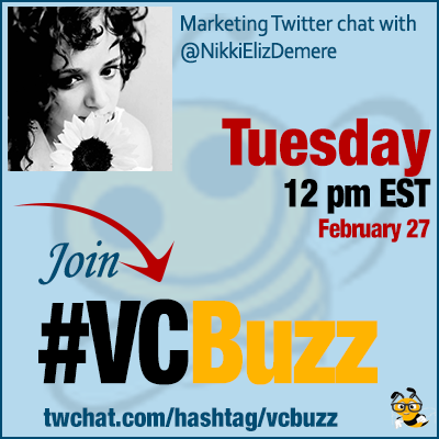 How to Discover Best Marketing Content w/ @NikkiElizDemere #VCBuzz