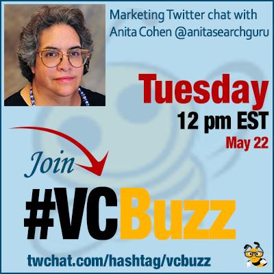 How to Combine SEO and Social Media w/ Anita Cohen @anitasearchguru #VCBuzz