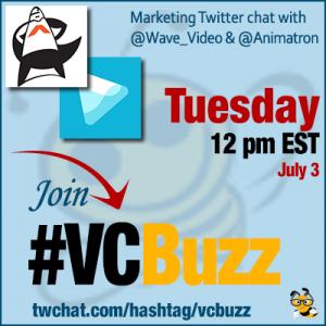 Creative Video Marketing Ideas w/ Ksenia Shneyveys of @Wave_Video and @Animatron #VCBuzz