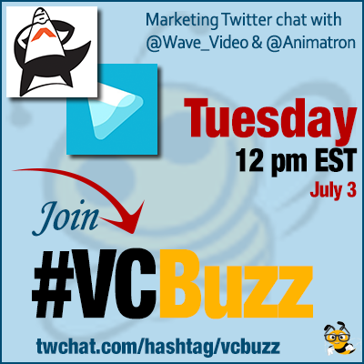 Creative Video Marketing Ideas w/ Ksenia Shneyveys of @Wave_Video and @Animatron #VCBuzz