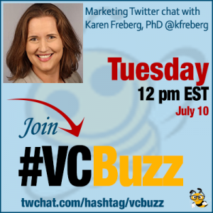 How to Connect to and Ultimately Become an Influencer with Karen Freberg, PhD @kfreberg #vcbuzz