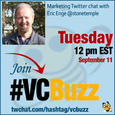 How to Analyze if Your Pages Are Keyword Relevant with Eric Enge @stonetemple #VCBuzz