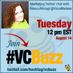 Increasing ROI by Making Marketing Champions of ALL Customers with Rebecca Murtagh @VirtualMarketer #vcbuzz