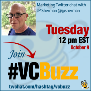 How to Match Your Content Marketing to Search Intent with JP Sherman @jpsherman #VCBuzz
