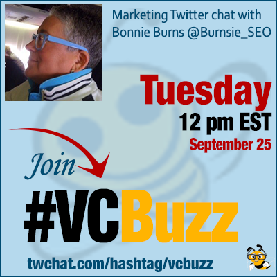 SEO Then and SEO Now with Bonnie Burns @Burnsie_SEO #vcbuzz