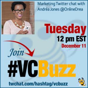 Building Social Media Sales Funnels with Andréa Jones @OnlineDrea #VCBuzz