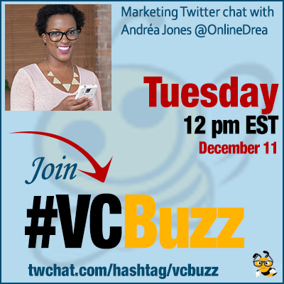 Building Social Media Sales Funnels with Andréa Jones @OnlineDrea #VCBuzz