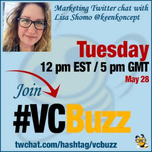 How to Write GREAT Content If You Are Not A Writer with Lisa Shomo @keenkoncept #vcbuzz