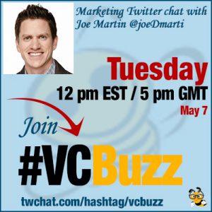 The Future of Social Media Marketing with Joe Martin @joeDmarti #vcbuzz