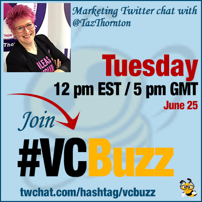 How to Unleash Your Awesome with @TazThornton #vcbuzz