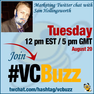 Create Content that Earns Links with Sam Hollingsworth @SearchMasterGen #VCBuzz
