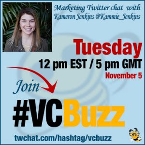 Creating a Comprehensive Content Strategy with Kameron Jenkins @Kammie_Jenkins #VCBuzz