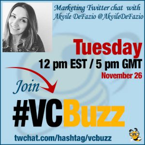 Facebook Advertising for Small Businesses with @AkvileDeFazio #VCBuzz