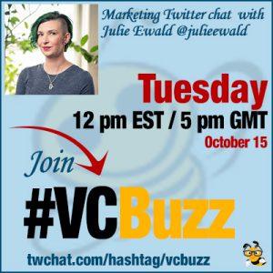 Social Media Marketing for B2B Companies with Julie Ewald @julieewald #VCBuzz