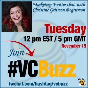 Using Social Media Videos at Each Stage of the Marketing Funnel with Christine Gritmon @cgritmon #VCBuzz